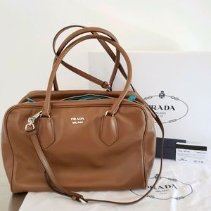 PRADA Inside Bag Leather Bag Made In Italy